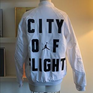 Jordan City Of Flight Bomber Jacket
